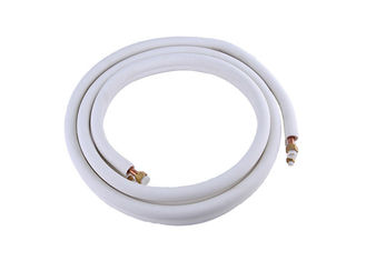 PE Insulated 1 4 Copper Refrigeration Tubing Fire Resistance Ac Copper Pipe